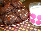 Kathleen King's Double Chocolate Almond Cookies